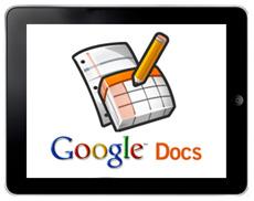 Google Docs для ipad