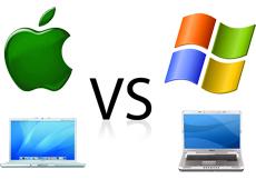 Mac и Windows