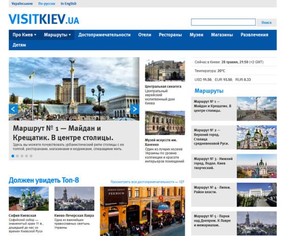 VisitKiev - туристические маршруты и достопримечательности Киева