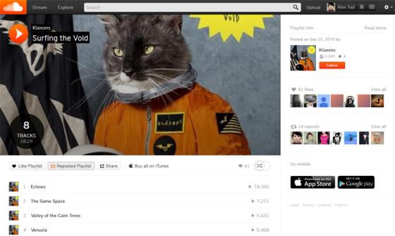 SoundCloud - музыкальный сервис