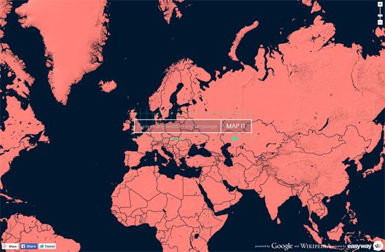 WordMap - оригинальный интерактивный переводчик с картой