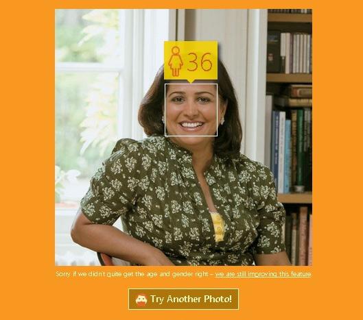 How-Old.net определяем возраст по фото