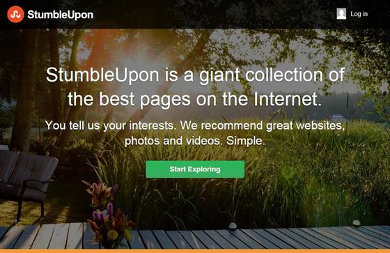 StumbleUpon – все самое лучшее из интернета