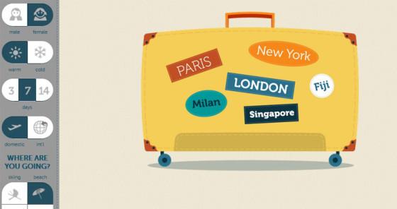 PackingList - правильный сбор чемодана