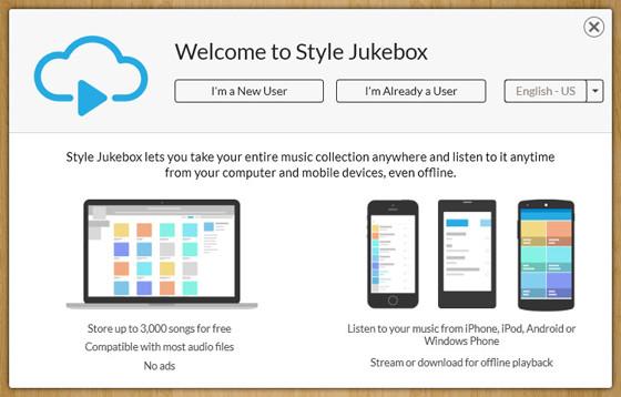 Style Jukebox - музыка в формате lossless