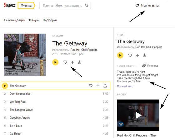 Яндекс.Музыка - бесплатное прослушивание любимой музыки онлайн
