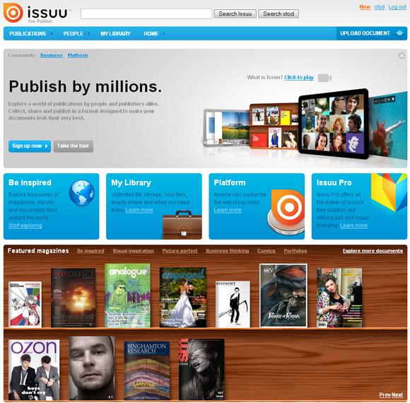 Issuu журналы и публикации online