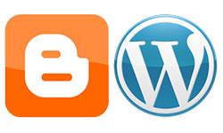 WordPress и Blogger