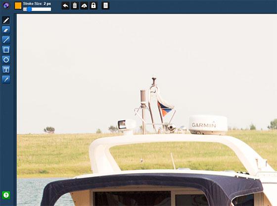Collabshot - редактор скриншотов онлайн