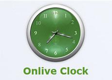 Сервис Onlive Clock