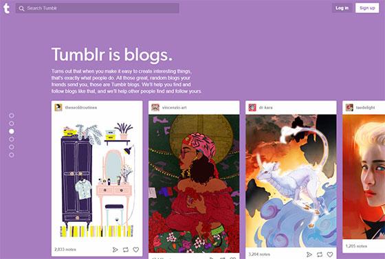 Tumblr блоги