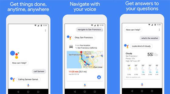 Возможности Google Assistant