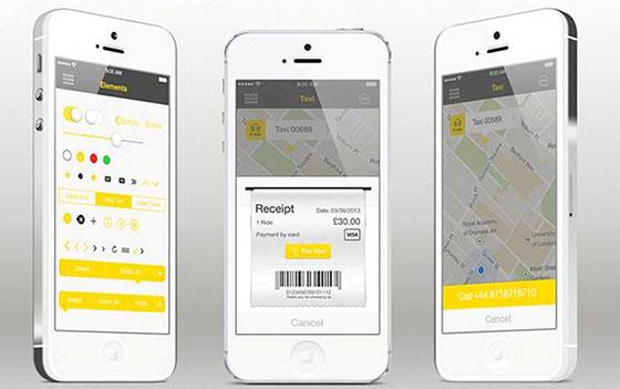 приложение такси