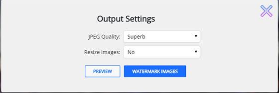 Watermarkly - сохранение результата