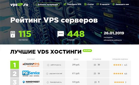 Сервис VpsUP