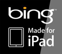 Bing под iPad
