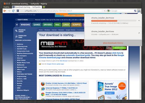 новый менеджер закачек для Firefox