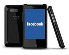 Facebook НТС смартфон