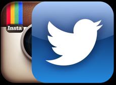 Instagram и Twitter