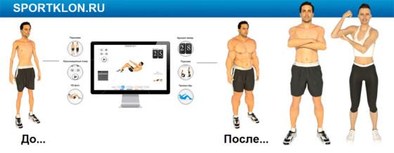 SportKlon.ru – сервис онлайн тренировок