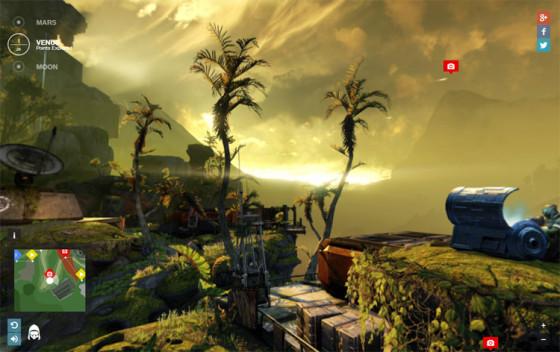 Destiny Planet View - оригинальный игровой сайт
