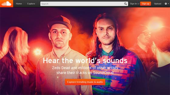 SoundCloud - портал авторской музыки всех жанров