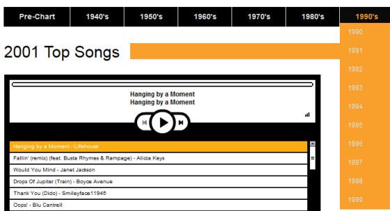 Playback.fm - все музыкальные хиты с 1946 года