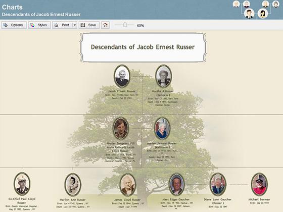 Семейное дерево онлайн