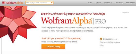 WolframAlpha - продвинутая версия