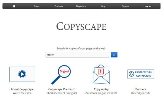 Сервис Copyscape.com