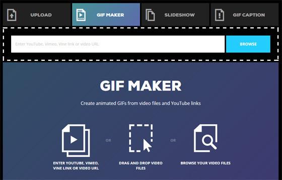 Создание gif анимации из видео