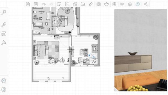 Autodesk Homestyler - приложение дизайна интерьера