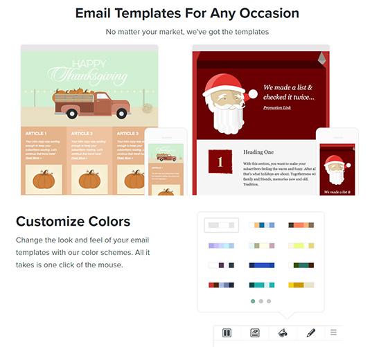 Возможности сервиса рассылки Benchmark Email