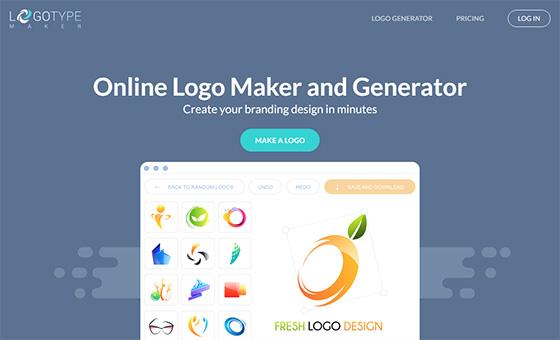 Сервис Logotype Maker