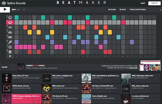Beatmaker - программа для создание битов онлайн