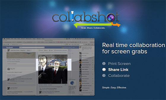 Collabshot - обработка скриншотов