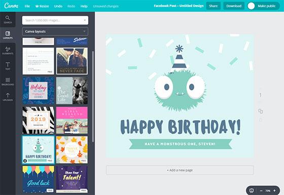 Сервис Canva.com